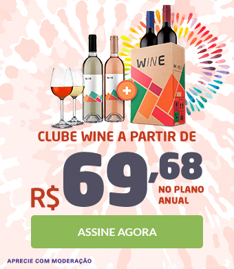 1º - Good Vibes Clube Wine - Clube